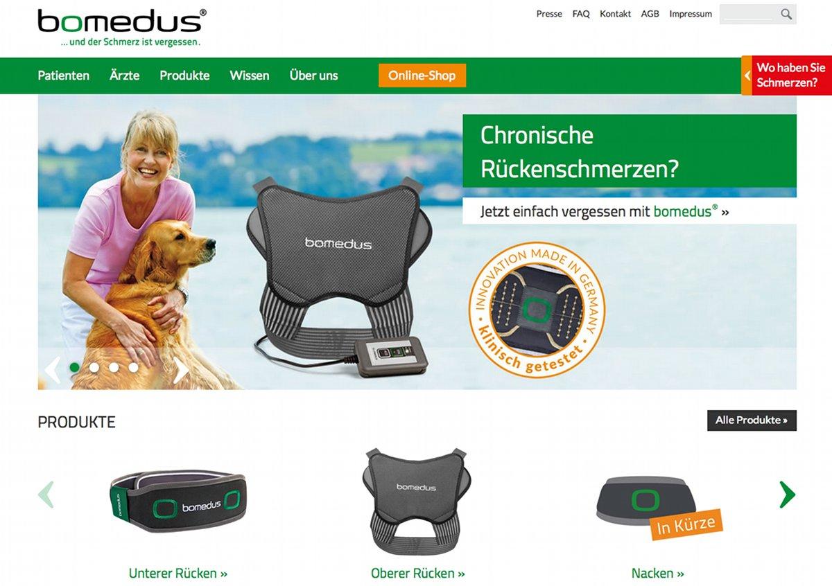 Screenshot-Bomedus_Startseite