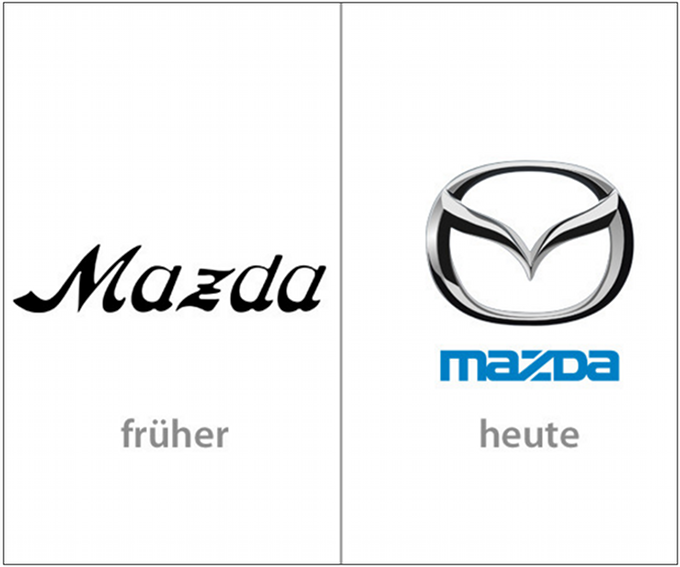 Screenshot Mazda Logos  www.internetworld.de