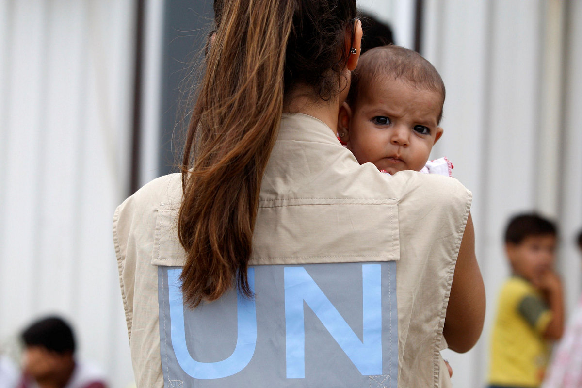 Syrien-Fluechtlinge