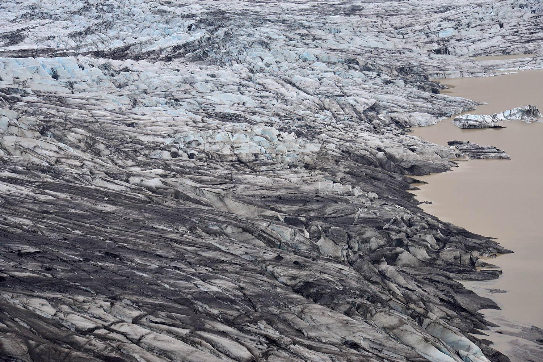 Ausblick auf den Skaftafellsjökull