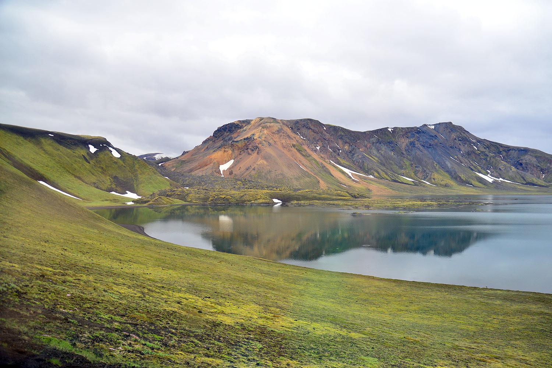 Der Frostastaðavatn an der F208