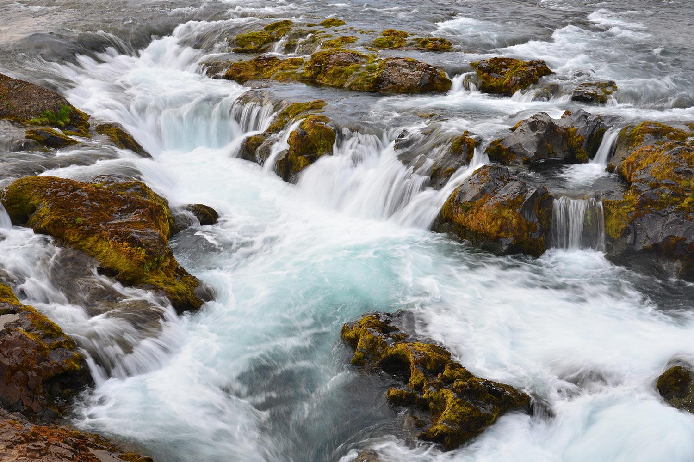 Am Haffjarðará, einem bekannten Lachsfluss