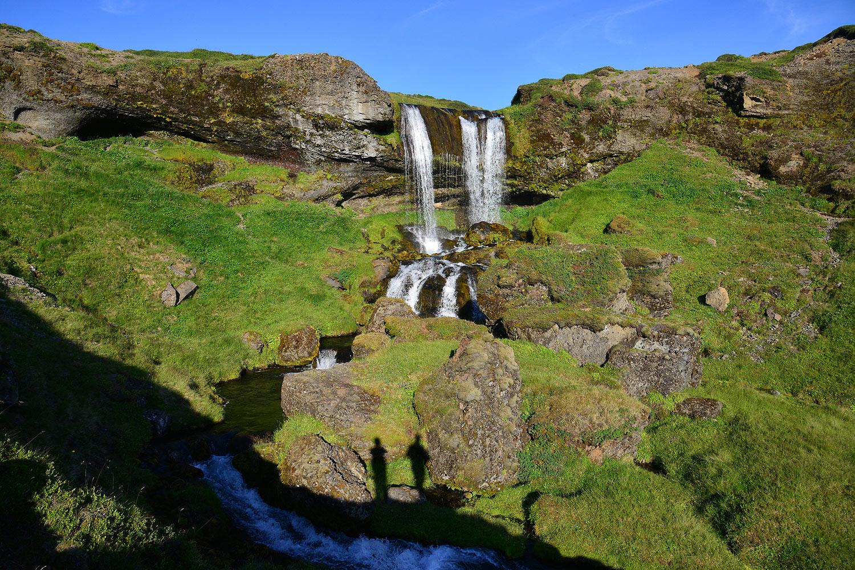 Namenloser Wasserfall am Selvallavatn