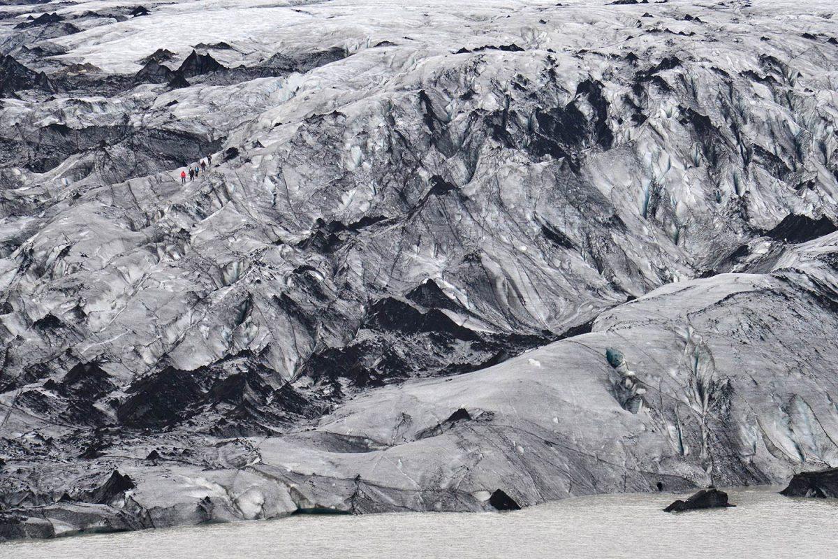 Sólheimajökull – eine Gletscherzunge des Mýrdalsjökulls