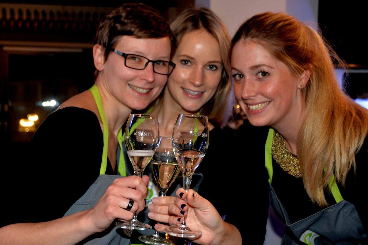 Nicole, Jasmin und Friederike